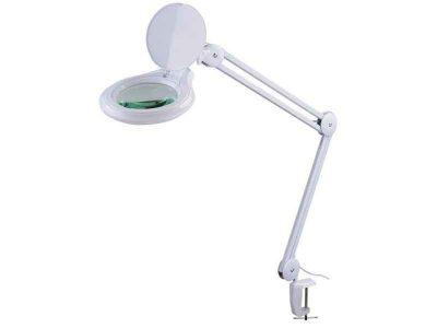 Lente di ingrandimento con luce LED 1200 lumen (ø127mm, 5di)